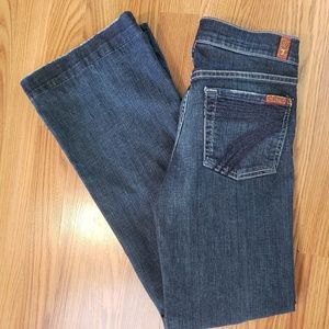 7 For All Mankind Dojo Blue Jeans size 25